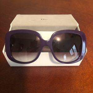 Christine Dior sunglasses